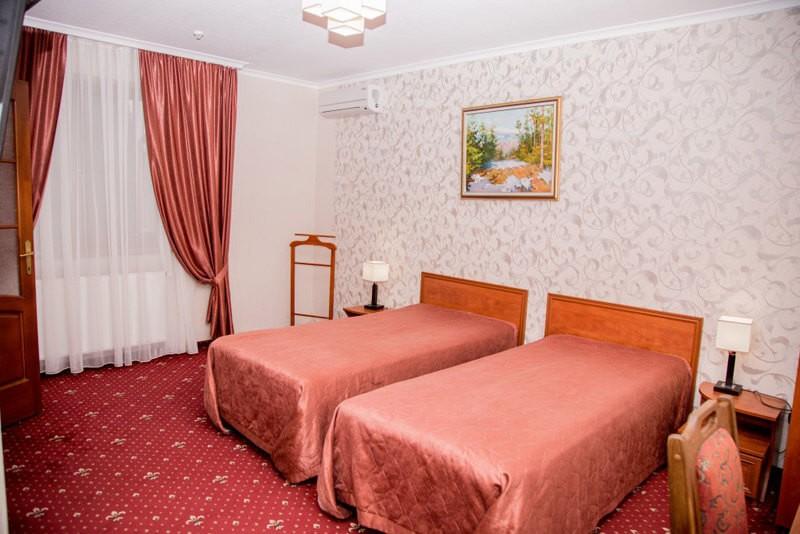 Отель Жаворонок Номер Стандарт - Кровати