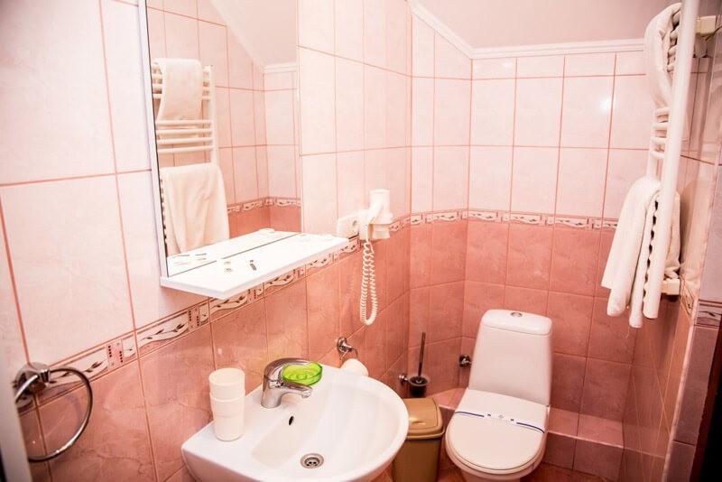 Отель Жаворонок Номер Стандарт - Туалет