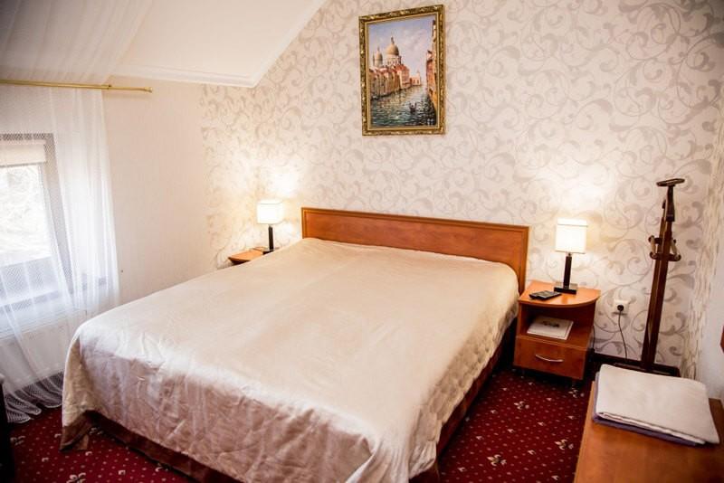 Отель Жаворонок Номер Стандарт - Спальня
