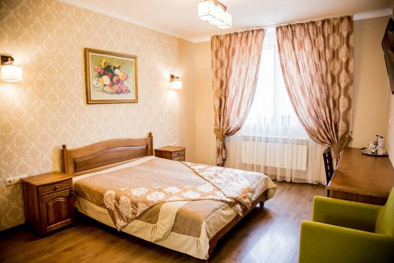 Отель Жаворонок Номер Стандарт - Кровать