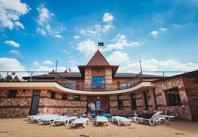 Отель Золотая Гора - Фасад
