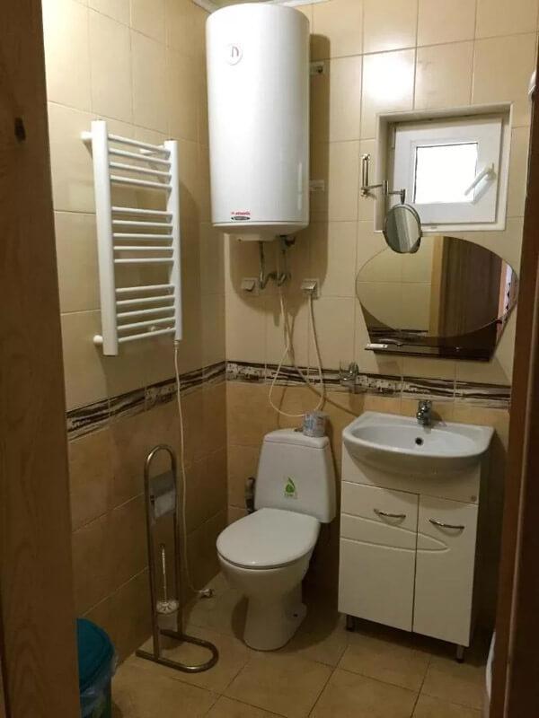 Санаторий Псел Номер LX 3к 1мест - Туалет