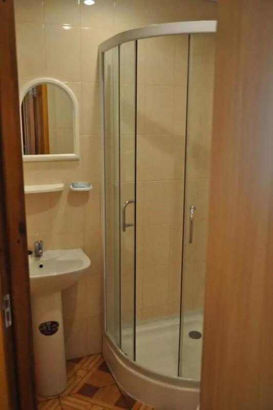 Санаторий Псел Номер Эконом 1мест - Туалет