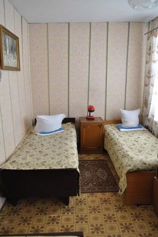 Санаторий Псел Номер Эконом 2мест - Спальня