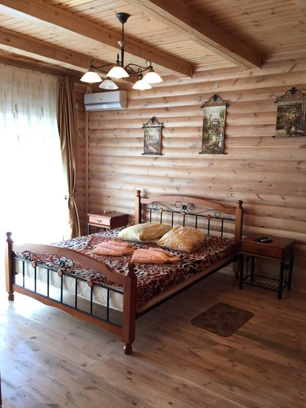 Санаторий Псел Номер Коттедж 2к - Спальня
