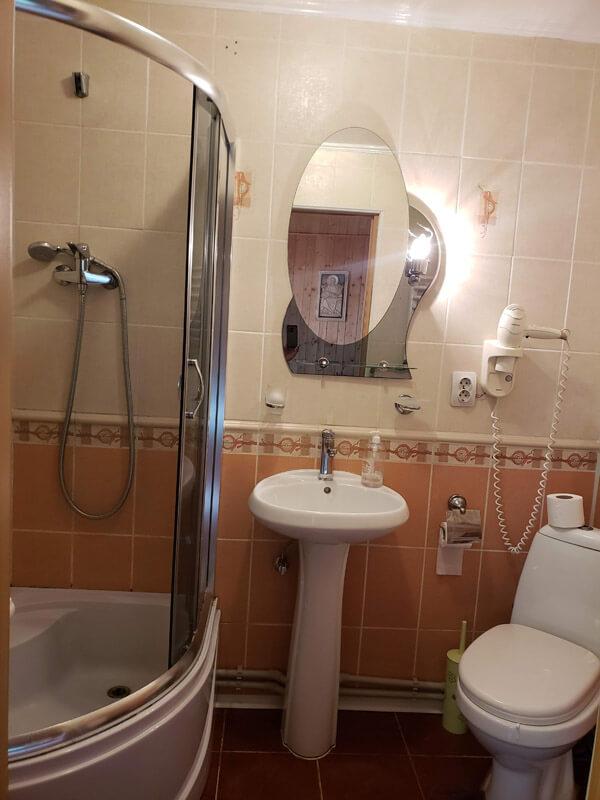 Карпаты Номер 1-мест SNGL - Туалет