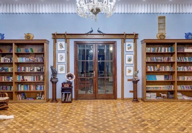 Санаторий Мраморный Дворец - Библиотека
