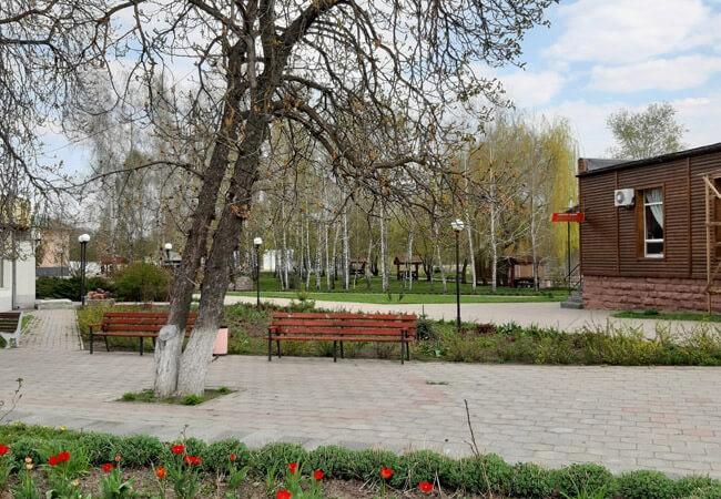 Псел Велика Богачка - Парк