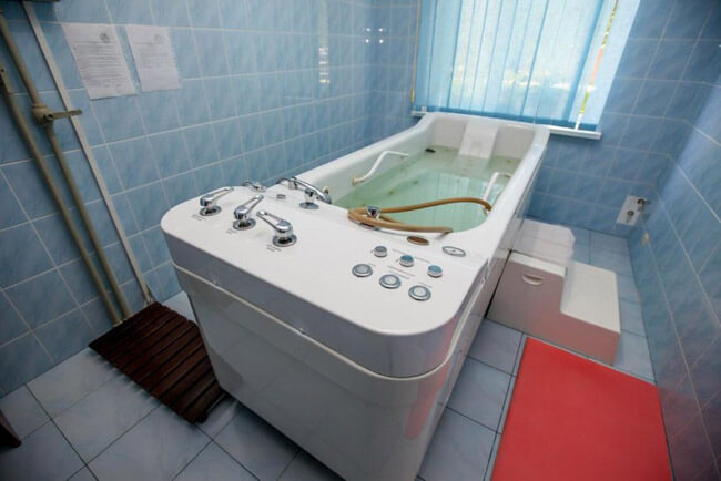 Санаторий Радужный - Лечебная ванна