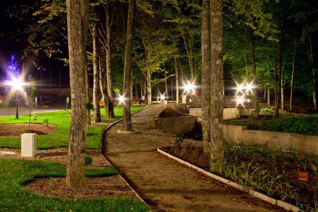Санаторий Сольва - Ночной Парк