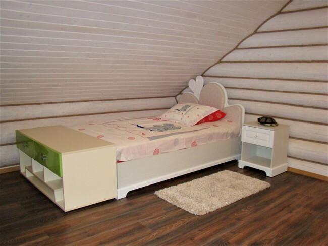 Сольва Деревянный Дом - Кроватка