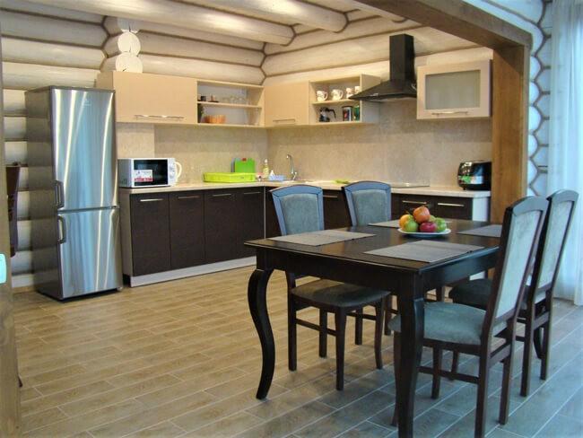 Сольва Деревянный Дом - Кухня