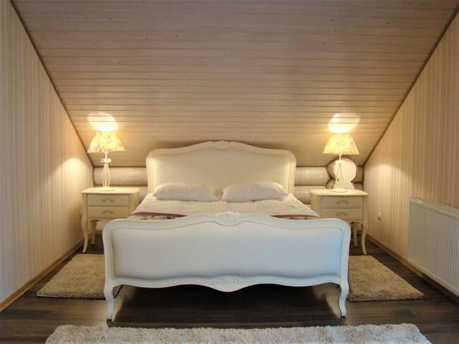 Сольва Деревянный Дом - Кровать