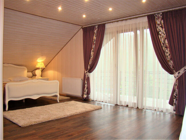 Сольва Деревянный Дом - Спальня
