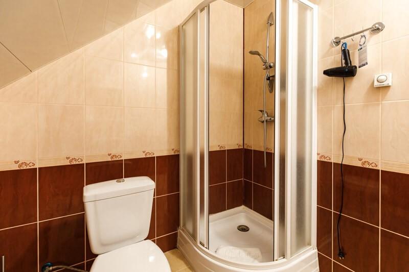 Воеводино Номер Семейный LX - Туалет