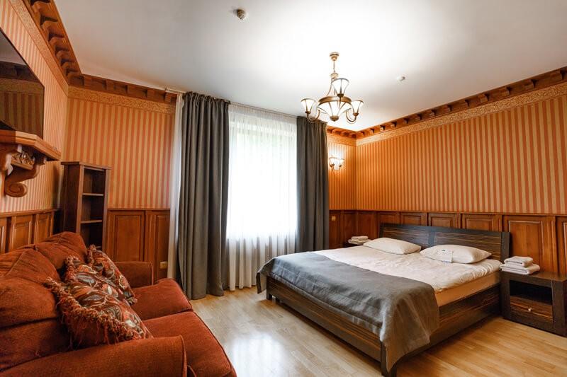 Воеводино Номер Семейный LX Grand - Спальня