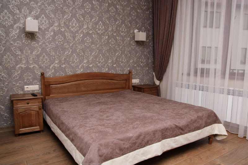 Отель Жаворонок Номер ST с Балк. - Спальня