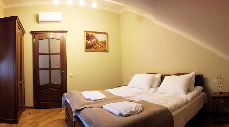 Золотая Гора Номер Аппарт. 1этаж - Спальня