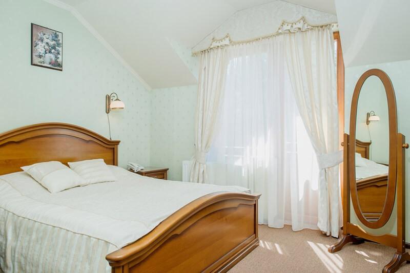 Золотая Гора Номер ПолуLX - Спальня