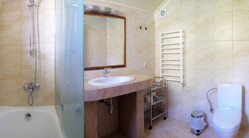 Золотая Гора Номер Винный Дом - Туалет