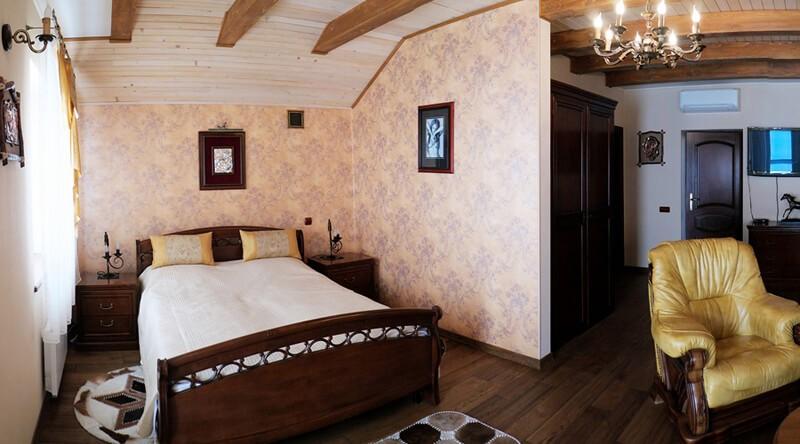 Золотая Гора Номер Винный Дом - Спальня