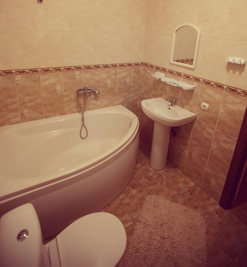 Отель Эдельвейс Номер - Ванная