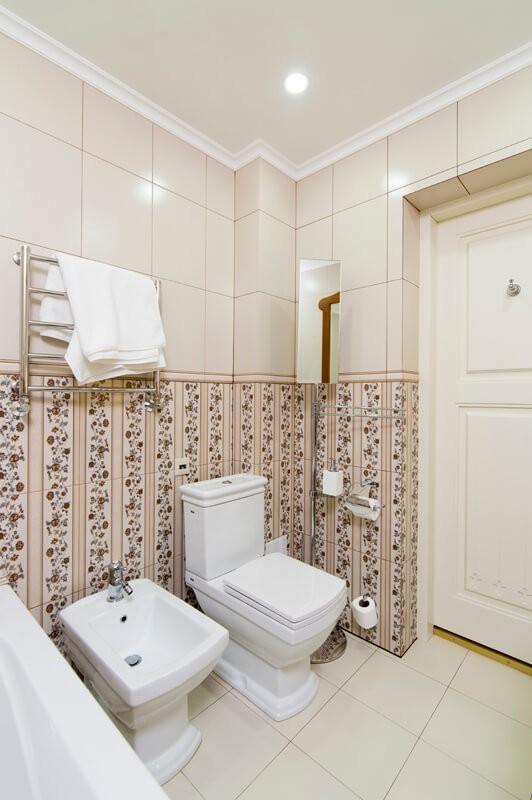 Вилла Моцарт Номер Люкс - Туалет