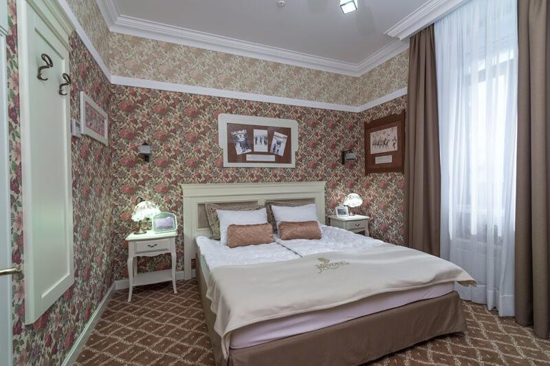 Вилла Моцарт Номер Стандарт - Спальня