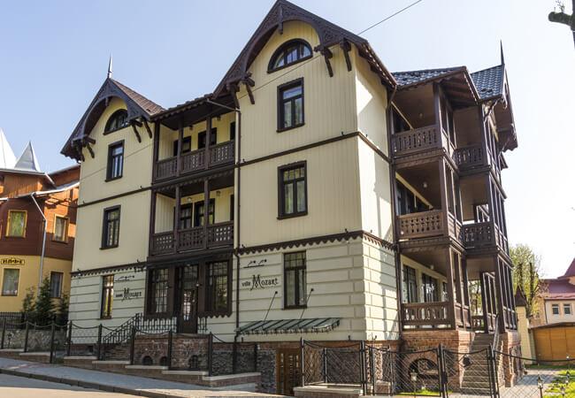 Вилла Моцарт в Трускавце - Здание