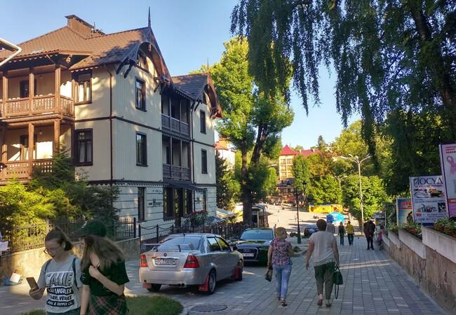 Вилла Моцарт в Трускавце - Парк