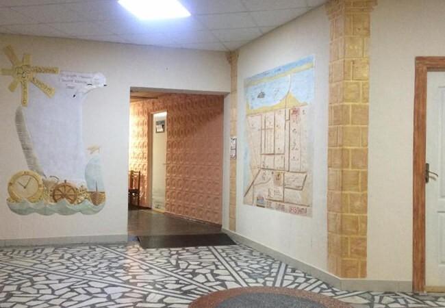 Санаторий Оризонт Сергеевка - Внутри