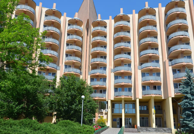 Санаторий Оризонт Сергеевка - Вход
