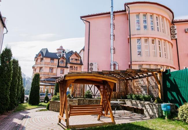 Вилла Калина Трускавец - Фасад