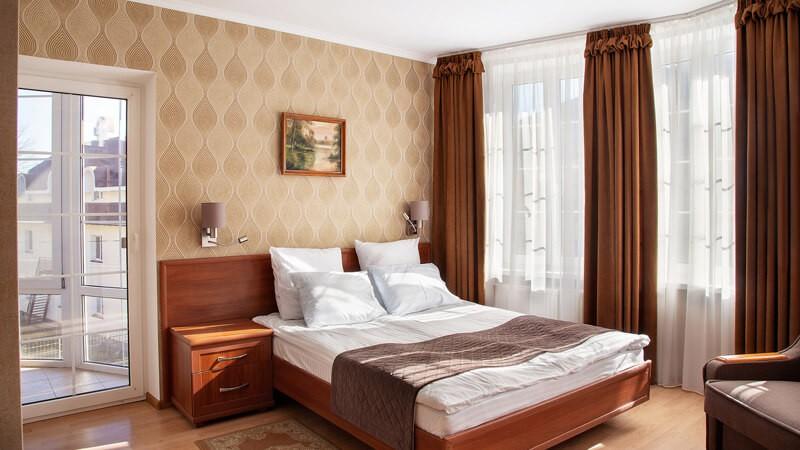 Вилла Марта Номер ВИП - Спальня