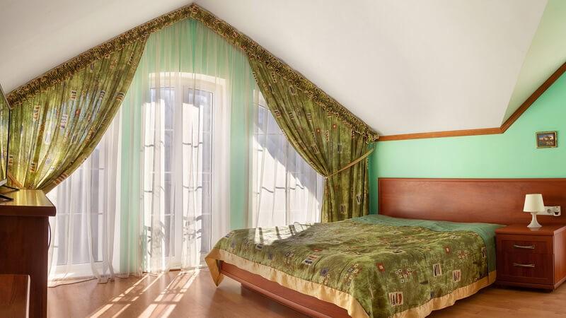 Вилла Марта Номер DeLUX - Кровать