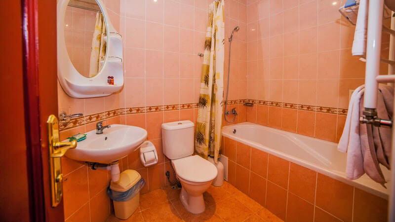 Вилла Марта Номер LUX - Туалет