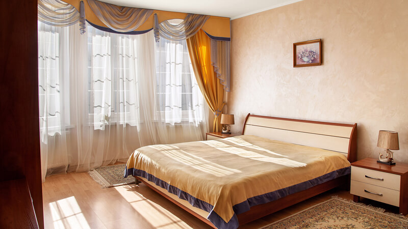 Вилла Марта Номер LUX - Спальня