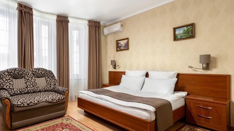 Вилла Марта Номер Superior - Спальня