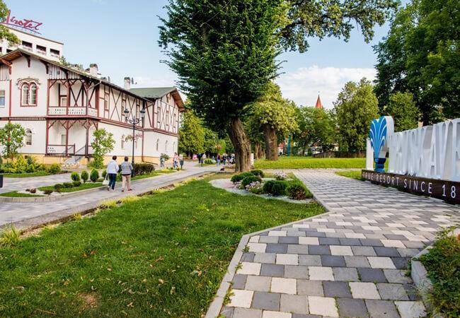 Вилла Виктория в Трускавце - Прогулки