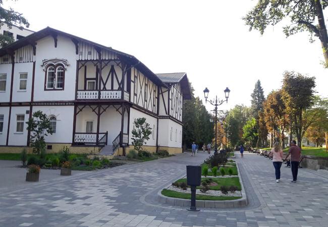 Вилла Виктория в Трускавце - Территория