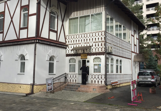 Вилла Виктория в Трускавце - Вход