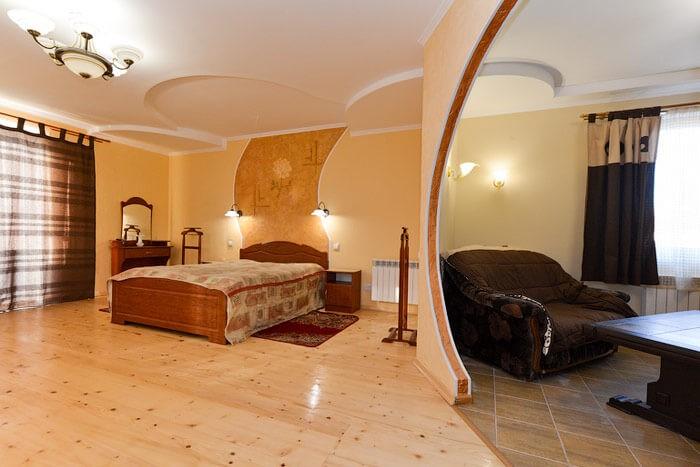 Вилла Жасмин Номер Studio - Кровать
