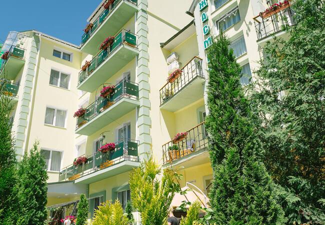 Вилла Жасмин Трускавец - Балконы