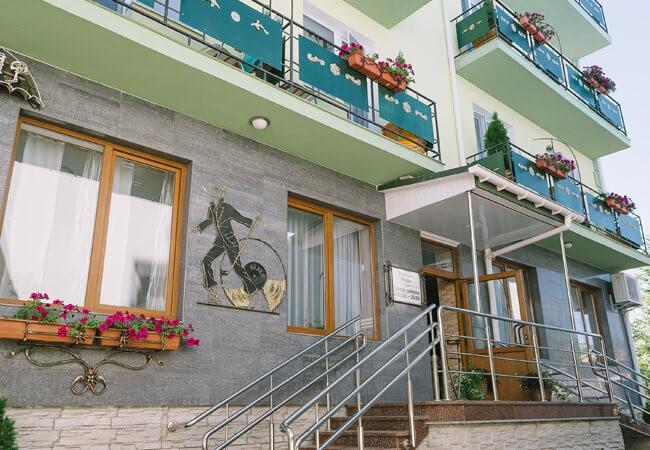 Вилла Жасмин Трускавец - Здание