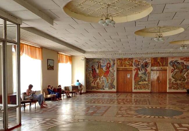 Санаторий Золотая Нива - Холл