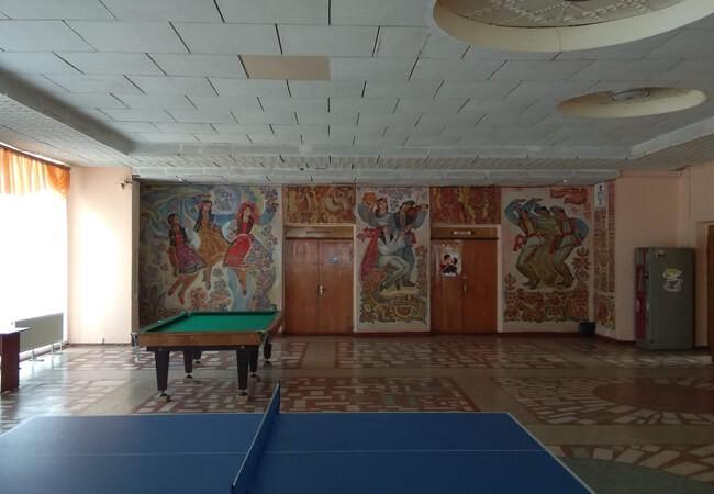 Санаторий Золотая Нива - Биллиард