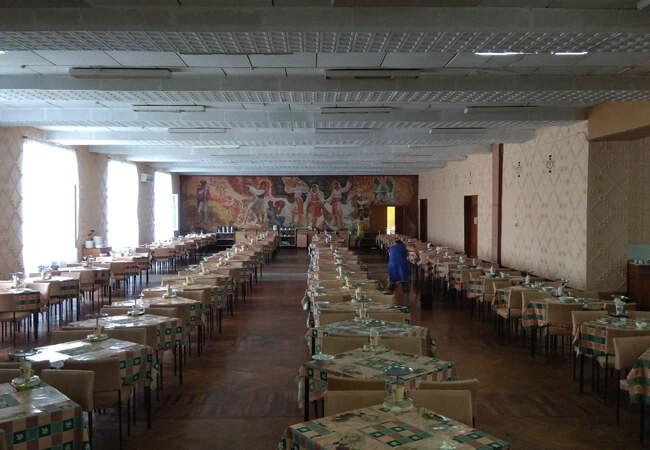 Санаторий Золотая Нива - Столовая