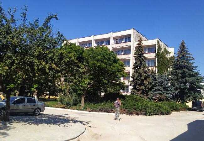 Санаторий Золотая Нива - Здание